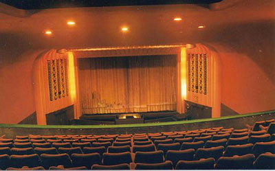 The auditorium of the old Regal Cinema that used to be located along   Bell Street   in Henley.    Photo kindly provided by Henley & District Organ Trust.