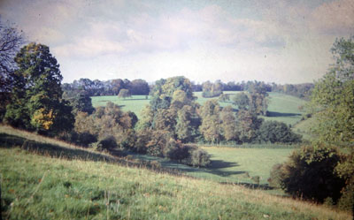 A view taken in the 1960s of   countryside near Henley  .     Photo kindly provided by Roy Sadler.