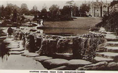 Old postcard of Friar Park, Henley.