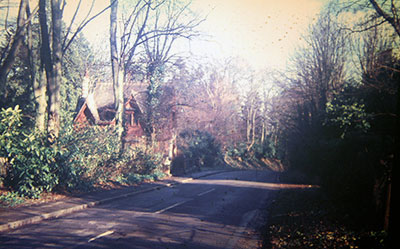 A view taken in the 1960s looking down   Gravel Hill   towards Henley.    Photo kindly provided by Roy Sadler.
