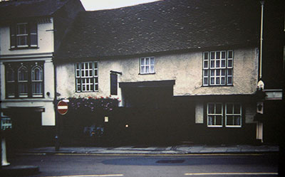 A view taken in the 1960s of the former site of the Broad Gate Inn.    Photo kindly provided by Roy Sadler.