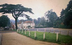 Old postcard of Northfield End, Henley.