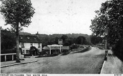 Old postcard of Remenham, Henley.