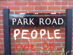 Park Road People Rule OK